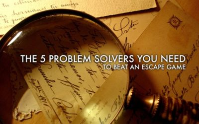 5 Kinds of Problem Solvers You Need to Beat an Escape Game