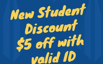 New student discount!